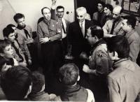 Miroslav Kopt v roce 1968