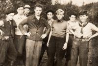 Skupina Tonda - Skauti z Vršovic - 1950-51
