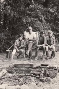 Miroslav Kopt se svými Rovery (druhá polovina 60. let)
