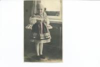 Nina Ingrišová - kolem roku 1938 v Brně