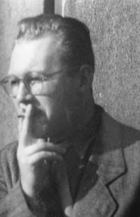 Josef Špak, snímek z mládí