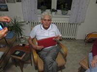 Lubor Šušlík při vyprávění, 2015