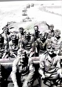 Jeho spolubojovníci na ruské frontě v letech 1941-45