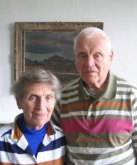 Manželé Hovorkovi v roce 2009