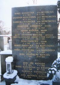 Hrobka rodiny Kloudů