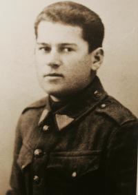 Gablech jako nováček v roce 1936