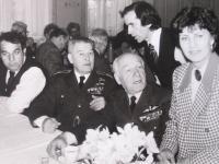 Imrich Gablech s pilotem RAF Antonínem Vendlem