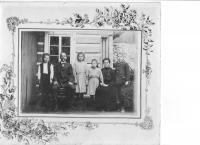 Eva Novotná s rodinou