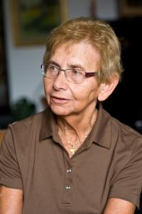 Dagmar Lieblová během rozhovoru 1