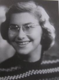 Dagmar v polovině 50. let