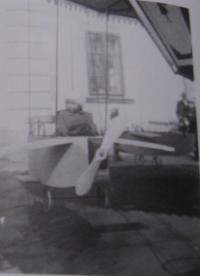 Dagmar na sedlecké pouti - rok 1931