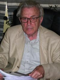 Pavel Oliva v roce 2009 během natáčení