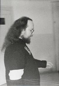 František Stárek; proces s revue Vokno; 1981