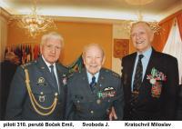 piloti 310. perutě Boček, Svoboda, Kratochvíl