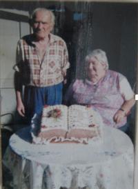 Vladimír Baume s manželkou Margaretou