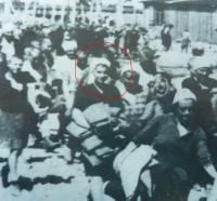 Ilsa Maier na dobové fotografi z Birkenau