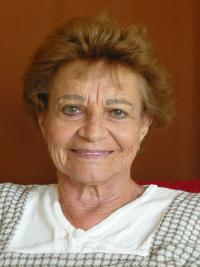 Ilsa Maier během natáčení rozhovoru v Praze v srpnu 2009