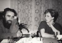 S manželkou Dorou, rozenou Pípalovou