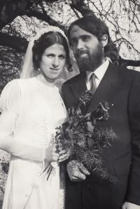 Svatba s Dorkou Pípalovou, rok 1971