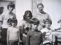 Schubertová s dětmi