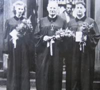 Kněžské svěcení Z. Schubertové