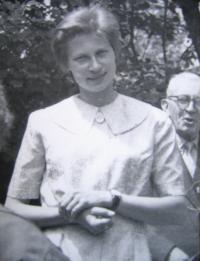 Z. Schubertová v roce 1976