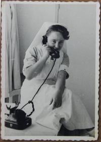 as a nurse in Israel
