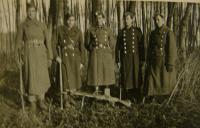 skupina vojáků působících předtím v Blaníku