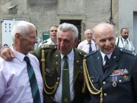 Václav Kuchyňka spolu s Pavlem Vranským (vpravo) a Tichomirem Mirkovičem (vlevo) - Darney 2008