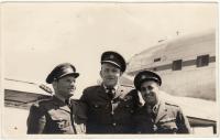 Jaroslav Hofrichter po válce u dopravního letectva