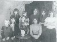 Rodina Němcových v 70. letech