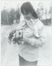 Dana Němcová in late 70´ies