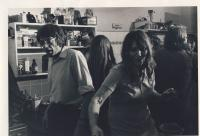 At home in Jecna street, cca 1975