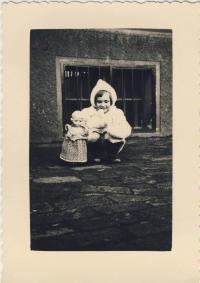 Dětská fotografie cca 1936/37