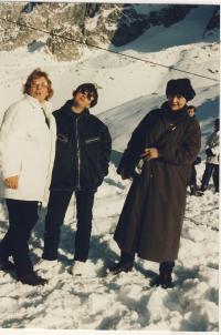 Dana Němcová v Chamonix, cena Dobré vůle, 1997