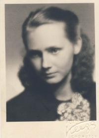 Maturitní foto 1952