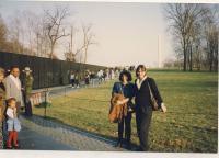 První cesta do USA, začátek 90. let