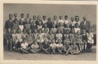 Školní fotografie 1941-42