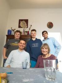 S žáky z projektu Příběhy našich sousedů
