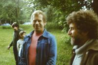 Václav a Ivan Havlovi, 1989