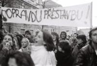 Demonstrace na Albertově, 17.11.1989