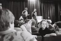 Monika Pajerová v Disku, delegáti stávkových výborů z celé republiky, 1989