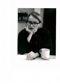 Monika Pajerová v Řetězovce, listopad 1989