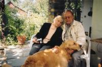 Se svou partnerkou a psem - současnost