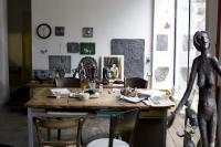 I v pokročilém věku je Olbram Zoubek stále aktivním umělcem