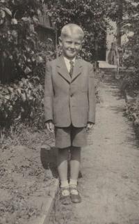 Jaromír Dus po návratu ze Švýcarska, 1946