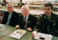 Farář Dus uprostřed, duchovní služba, Řím 2005