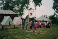 Letní tábor s dětmi z vinohradského sboru, Mysliv 1995