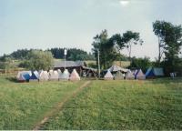 Stanový tábor pro děti z vinohradského sboru, Mysliv 1995