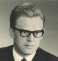 Jaromír Dus, portrét, Praha 1962